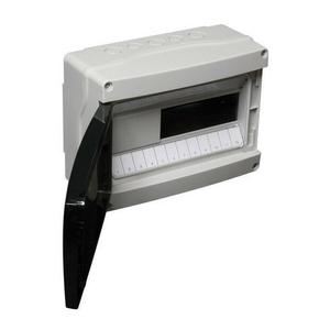 Coffret électrique modulaire à équiper étanche coloris gris capacité 12 modules - Gedimat.fr