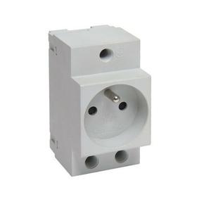 Prise de courant modulaire 2P+T 10/16A - Gedimat.fr