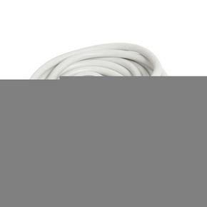 Rallonge prolongateur électrique mâle femelle 2 pôles + terre 16A avec cordon d'alimentation rond coloris blanc câble H05VVF 3G1,5mm² long.10m sur plaquette de 1 pièce - Gedimat.fr