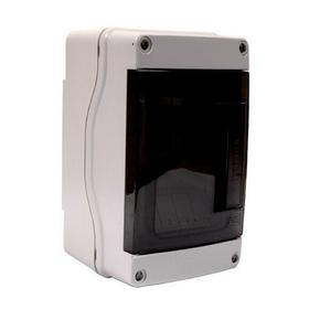Coffret électrique modulaire à équiper étanche IP65 gris 4 modules - Gedimat.fr