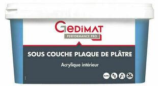 Impression acrylique opacifiante mate GEDIMAT pot de 5L blanc - Gedimat.fr