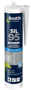 Mastic silicone neutre cartouche 310ml translucide - Gedimat.fr