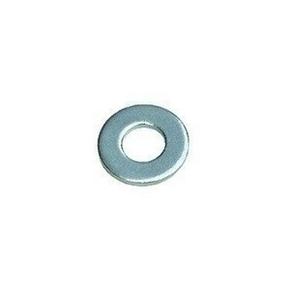 Rondelle plate moyenne acier zingué diam.6mm en boîte de 500 pièces - Gedimat.fr