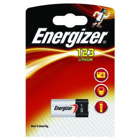PILE CR123 CR123A DL123 CR17345 3V LITHIUM ENERGIZER B1 - Gedimat.fr