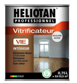 Vitrificateur satin� HELIOTAN VIE 0,75L naturel - GEDIMAT - Mat�riaux de construction - Bricolage - D�coration