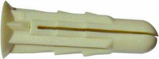 Cheville crantée D.6x25mm+vis TF D.3,5x30mm - sachet de 50 pièces - Gedimat.fr