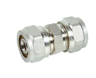 Raccord égal à compression Alizé'O pour tube multicouche diam.16mm - Gedimat.fr