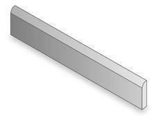 Plinthe carrelage pour sol en grès cérame émaillé CHIC larg.8cm long.48cm coloris zinc - Gedimat.fr
