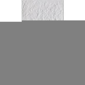 Carrelage pour mur en faïence NORDKAPP larg.20cm long.40cm coloris blanc - Gedimat.fr