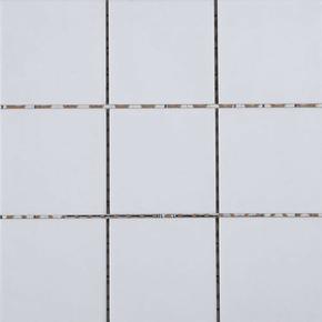 Carrelage pour sol ou mur en grés émaillé dim.10x10cm coloris white - Gedimat.fr