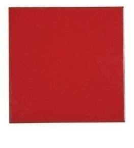 Carrelage pour sol ou mur en grés émaillé dim.20x20cm coloris red - Gedimat.fr