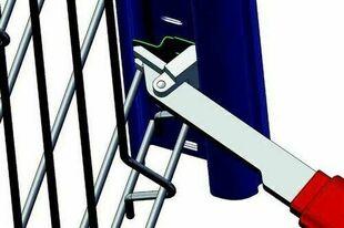 Clipseur AQUILON pour panneaux de clôture - Gedimat.fr