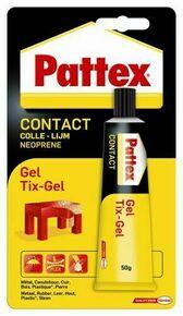 Colle d'assemblage CONTACT GEL PATTEX tube de 50g - Gedimat.fr