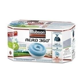 Recharche pour absorbeur AERO 360° Printemps RUBSON lot de 2 pièces - Gedimat.fr
