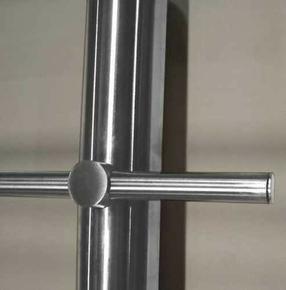 Bouchons pour tube pour gamme garde-corps en inox lot de 5 pièces - Gedimat.fr