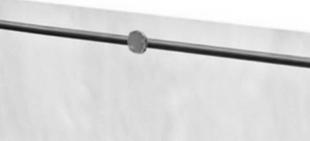 Fixation pour le kit de protection plexi (pour tubes ou cables) gamme garde-corps en inox par lot de 6 pièces - Gedimat.fr