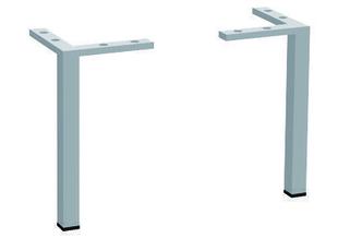 Pieds x2 pour meuble succès ZAMACK Long.2,50cm Haut.25cm larg.2,50cm - Gedimat.fr