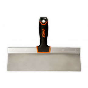 Couteau à enduire lame inox ultra flexbile manche bi matière 300mm - Gedimat.fr