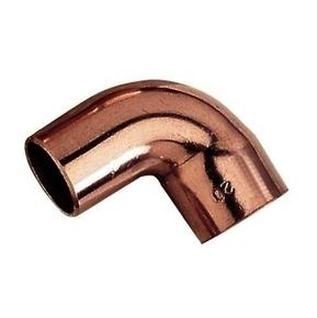 Coude cuivre à souder angle 90° mâle femelle diam.22mm - Gedimat.fr