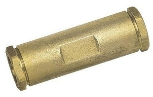 Manchon de réparation laiton brut pour tube polyéthylène diam.20mm long.100mm en vrac 1 pièce - Gedimat.fr