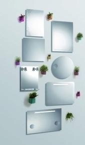 Miroir SOUTO long.50cm haut.65cm - Gedimat.fr