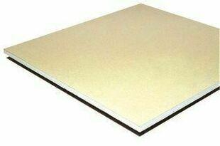 Plaque de plâtre standard PLACOPLATRE NF BA13 - 2,60x1,20m - Gedimat.fr