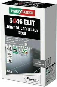 Joint de carrelage déco 1 à 6mm 5046 ELIT seau de 5kg coloris anthracite - Gedimat.fr