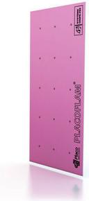 Plaque de plâtre ignifuge PLACOFLAM NF BA15 - 2,50x1,20m - Gedimat.fr