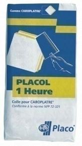 Colle carreau de plâtre PLACOL 1H - sac de 25kg - Gedimat.fr
