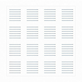 Dalle GYPTONE ACCESS LINE 6 12,5 - 600X600mm - Gedimat.fr