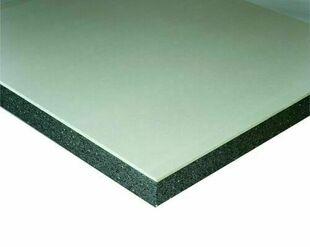 Doublage polystyrène graphite hydrofuge DOULBISSIMO P PV 13+80 - 2,60x1,20m - R=2,55m².K/W - Gedimat.fr