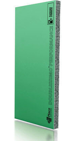 Doublage polystyrène graphite hydrofuge DOUBLISSIMO P 13+80 - 2,70x1,20m - R=2,55m².K/W - Gedimat.fr