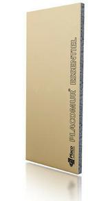 Doublage polystyrène expansé PLACOMUR E 10+60 - 2,50x1,20m - R=1,90m².K/W - Gedimat.fr