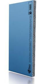 Doublage polystyrène graphite DOUBLISSIMO P 13+100 - 2,50x1,20m - R=3,40m².K/W - Gedimat.fr
