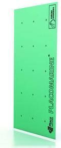 Plaque de plâtre hydrofuge PLACOMARINE BA13 - 2,80x1,20m - Gedimat.fr