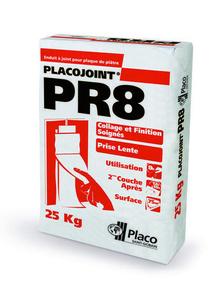 Enduit joint PLACOJOINT PR 8H - sac de 25kg - Gedimat.fr