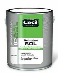 Primaire sol IP SOL incolore  - pot 2,5l - Gedimat.fr