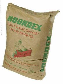 Liant à maconner HOURDEX - sac de 35kg - Gedimat.fr