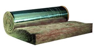 Laine de verre TI 312 revêtue alu - 11x1,2m Ep.80mm - R=2,00m².K/W. - Gedimat.fr