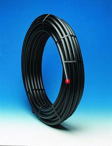 Tube polyéthylène eau potable diam.75mm 16 bar couronne de 50m - Gedimat.fr