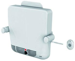 Sèche serviette soufflant Helliopack 800W Dim.:L.37,5xH.37xP.7,5cm blanc - GEDIMAT - Matériaux de construction - Bricolage - Décoration