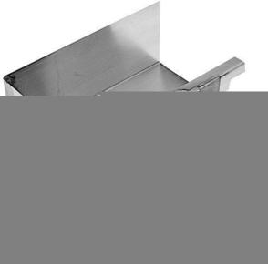 Angle int rieur querre 90 zinc naturel pour goutti re for Interieur zinc
