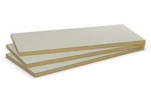 Doublage laine de roche LABELROCK STANDARD BA10+80 - 2,60x1,20m - R=2,40m².K/W. - Gedimat.fr