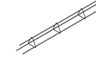 Chaînage triangulaire fermé 3HA8 haut.9cm larg.9cm Long.6m - Gedimat.fr