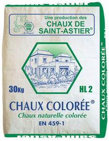 Chaux color e hl2 sac 30kg - Chaux de saint astier ...