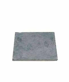 Dalle pierre naturelle Bluestone tambourinée Vietnam ép.2,5cm dim.40x40cm coloris bleutée - Gedimat.fr
