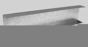 Eclisse 2PLUS acier 15/10 pour plafond PREGYMETAL boîte de 25 pièces - Gedimat.fr