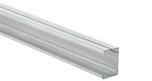 Montant acier galvanisé PREGYMETAL 48-50/6 larg.48mm long.3,00m - Gedimat.fr