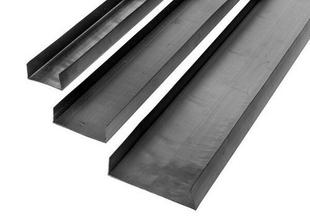 Rail U plastique PF3 70/25 - 3m - Gedimat.fr