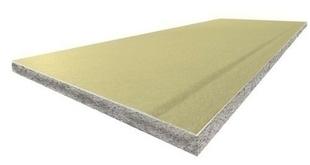 Doublage polystyrène graphite PREGYTHERM DUR BA13+100 - 2,60x1,20m - R=3,15m².K/W - Gedimat.fr